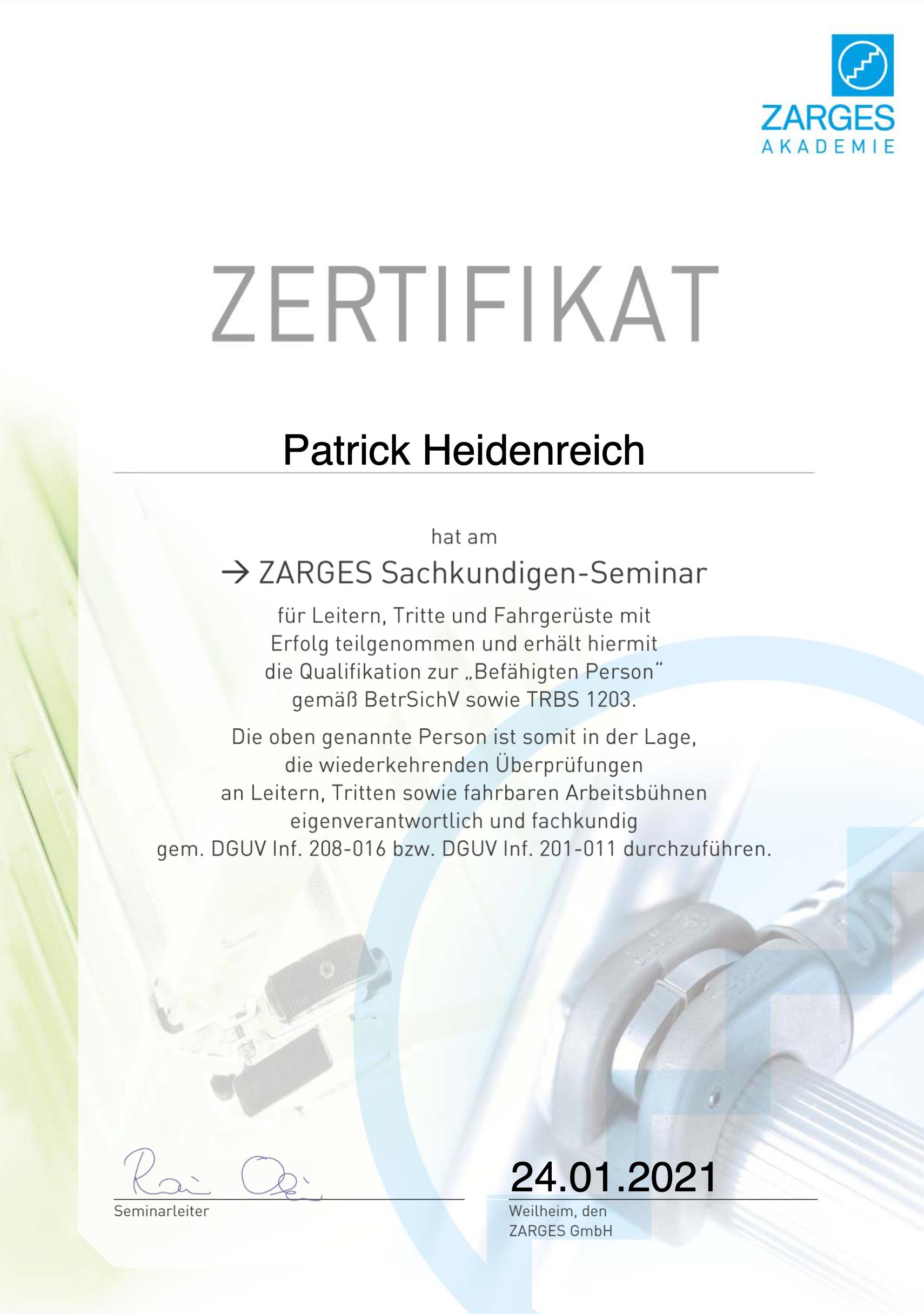 Patrick Heidenreich